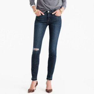 J. Crew 29 Toothpick Jean in Point Lake Wash